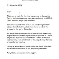 Generic letter 2004-09-02