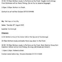 Gig Sheet for HLF-2