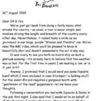 Jez -letter about complaint 1