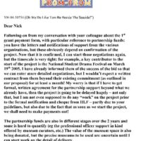 Letter to Nick Rochford 26-1-2005-1