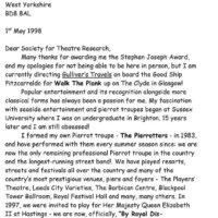 Letter to STR 1-1
