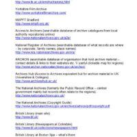 Links for HLF from Vicky 1 Tony Lidington 2005