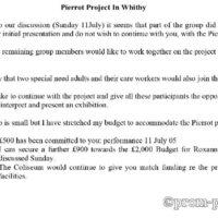 Pierrot Project In Whitby