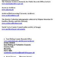 Whitby contacts 1-2