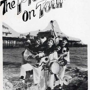 Pier Productions publicity postcard front
